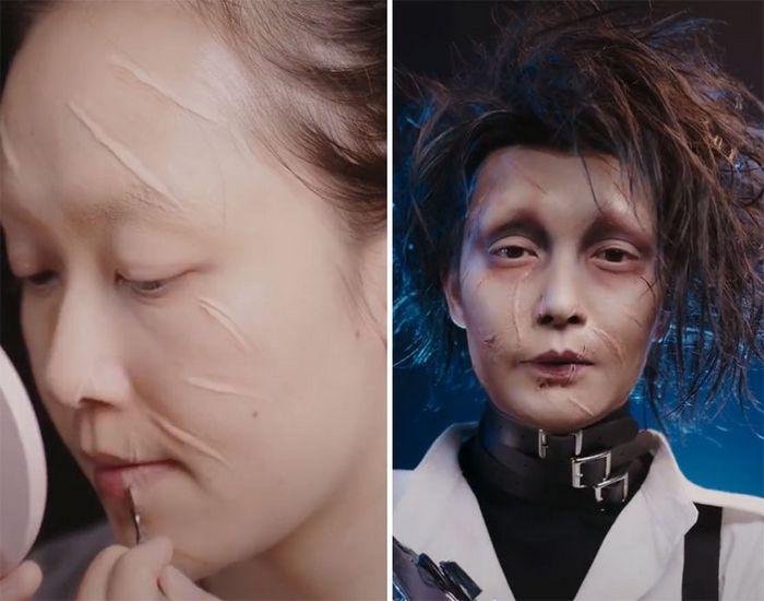 Esta maquiadora pode se transformar em qualquer celebridades, e ela está se tornando viral no TikTok (20 fotos) 7