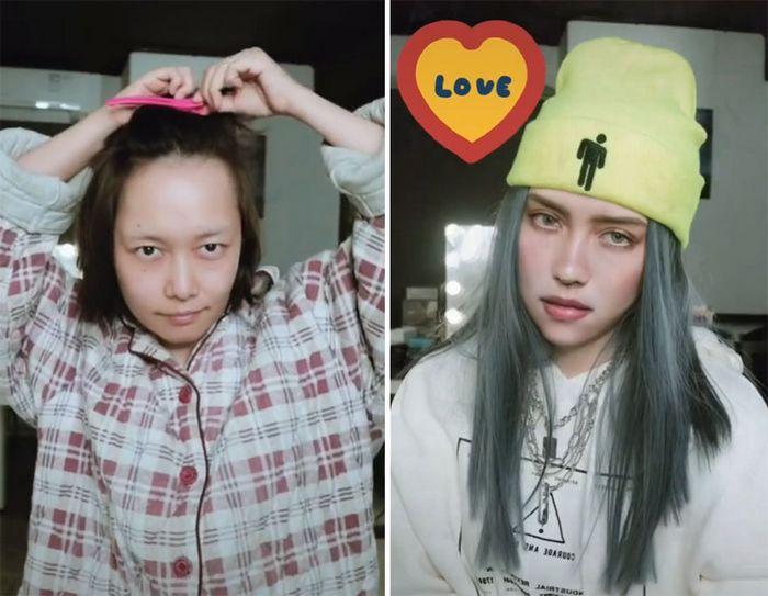 Esta maquiadora pode se transformar em qualquer celebridades, e ela está se tornando viral no TikTok (20 fotos) 8