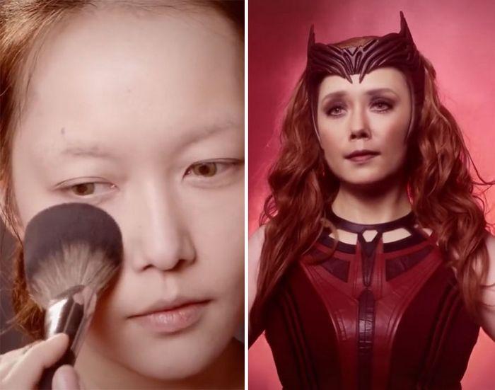 Esta maquiadora pode se transformar em qualquer celebridades, e ela está se tornando viral no TikTok (20 fotos) 9