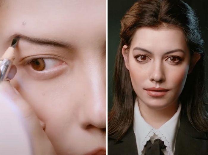 Esta maquiadora pode se transformar em qualquer celebridades, e ela está se tornando viral no TikTok (20 fotos) 12