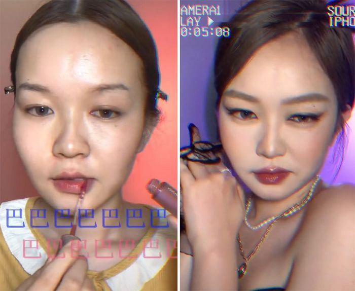 Esta maquiadora pode se transformar em qualquer celebridades, e ela está se tornando viral no TikTok (20 fotos) 18