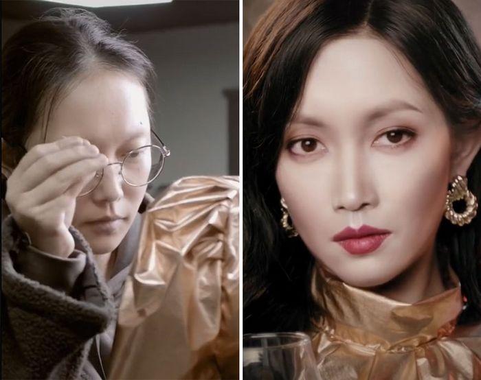 Esta maquiadora pode se transformar em qualquer celebridades, e ela está se tornando viral no TikTok (20 fotos) 19