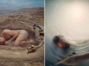 Este artista cria edições surreais e caprichosas (45 fotos) 49