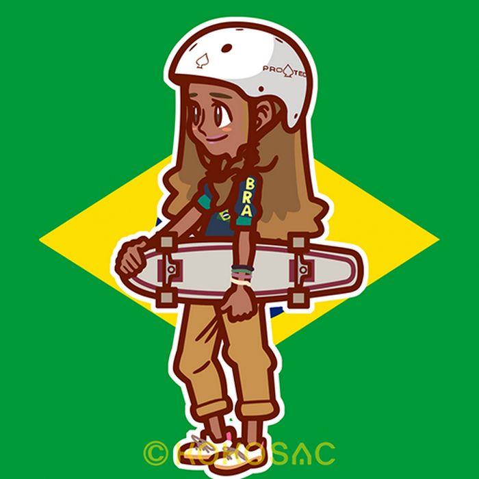 Ilustrador japonês está desenhando personagens brasileiros 8