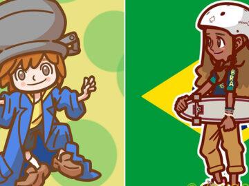 Ilustrador japonês está desenhando personagens brasileiros 4