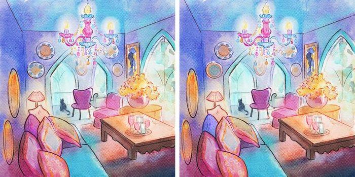 Jogo do erro: Teste sua capacidade de observação e encontra as 3 diferenças nas imagens 2