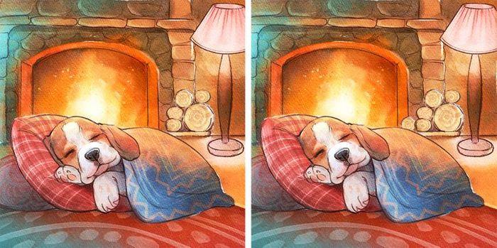 Jogo do erro: Teste sua capacidade de observação e encontra as 3 diferenças nas imagens 8
