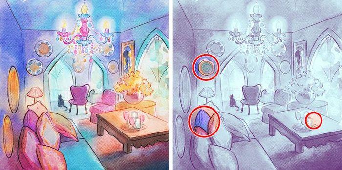 Jogo do erro: Teste sua capacidade de observação e encontra as 3 diferenças nas imagens 3