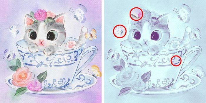 Jogo do erro: Teste sua capacidade de observação e encontra as 3 diferenças nas imagens 5