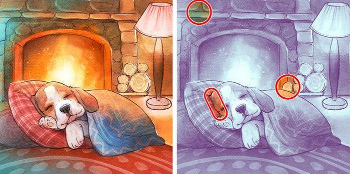 Jogo do erro: Teste sua capacidade de observação e encontra as 3 diferenças nas imagens 9