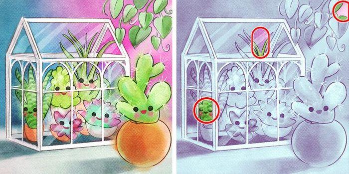 Jogo do erro: Teste sua capacidade de observação e encontra as 3 diferenças nas imagens 13