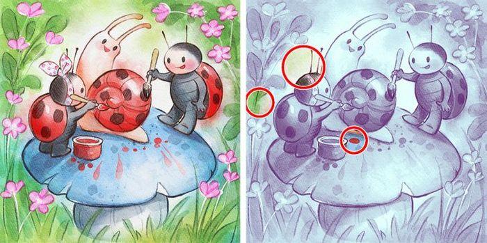 Jogo do erro: Teste sua capacidade de observação e encontra as 3 diferenças nas imagens 15