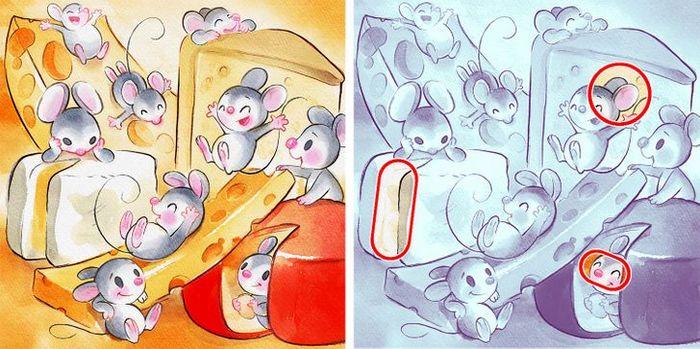 Jogo do erro: Teste sua capacidade de observação e encontra as 3 diferenças nas imagens 17