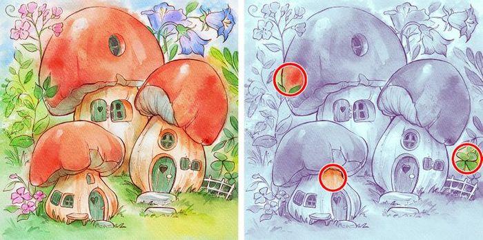 Jogo do erro: Teste sua capacidade de observação e encontra as 3 diferenças nas imagens 23