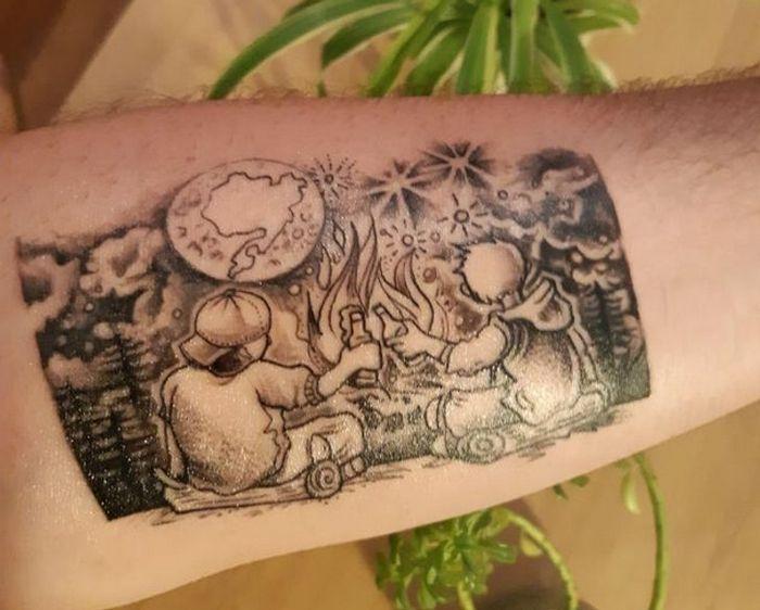 21 pessoas que fizeram tatuagens com grande significado pessoal 3
