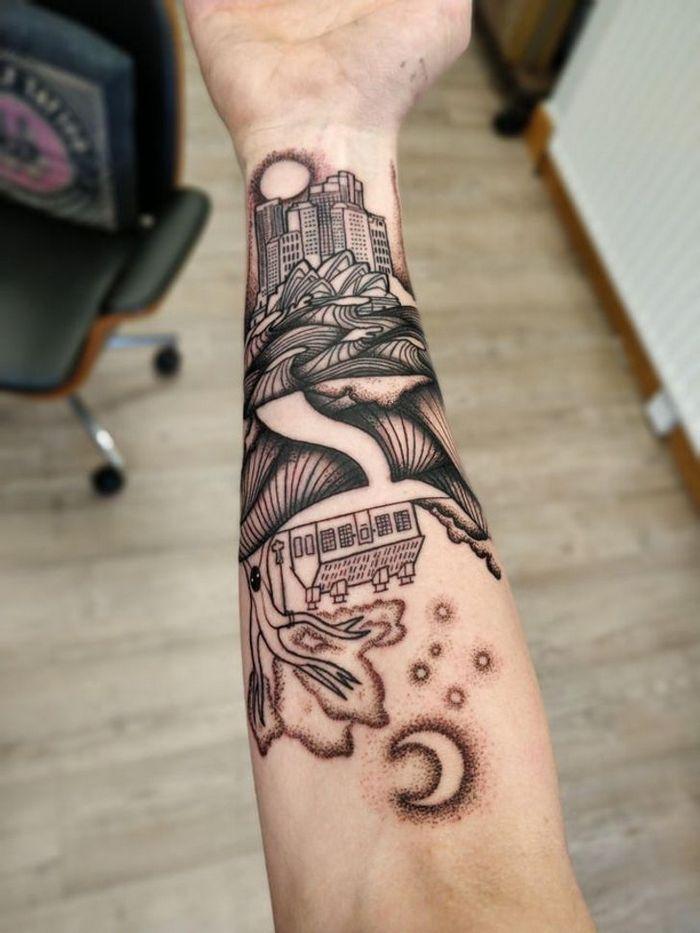 21 pessoas que fizeram tatuagens com grande significado pessoal 9
