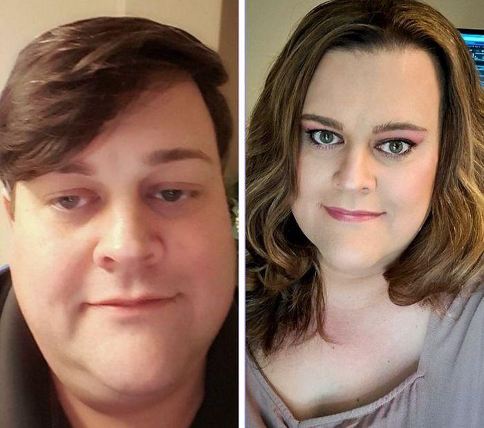 28 pessoas que mudaram radicalmente depois que deixaram o cabelo crescer 6