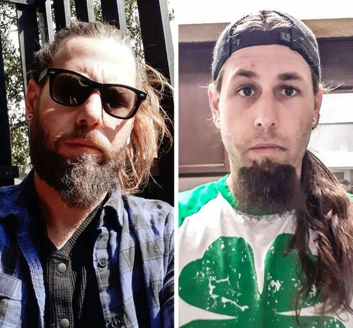 28 pessoas que mudaram radicalmente depois que deixaram o cabelo crescer 7