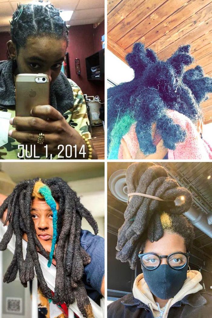 28 pessoas que mudaram radicalmente depois que deixaram o cabelo crescer 10