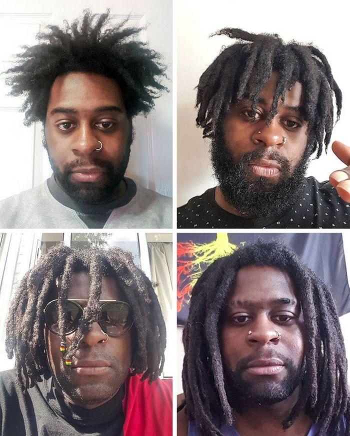 28 pessoas que mudaram radicalmente depois que deixaram o cabelo crescer 11
