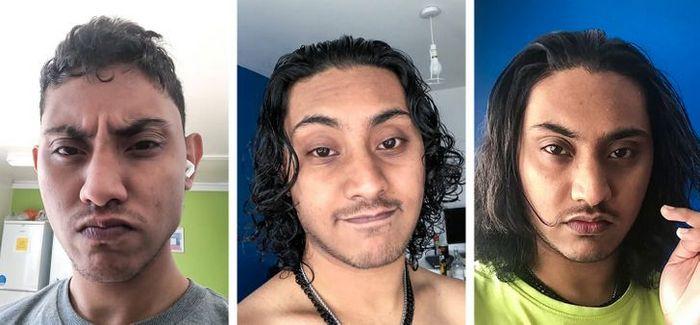 28 pessoas que mudaram radicalmente depois que deixaram o cabelo crescer 15