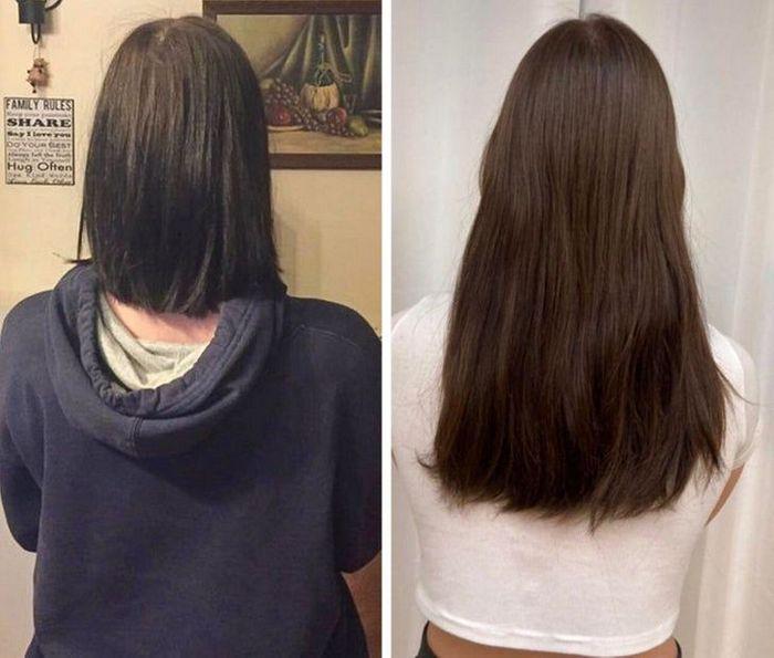 28 pessoas que mudaram radicalmente depois que deixaram o cabelo crescer 27
