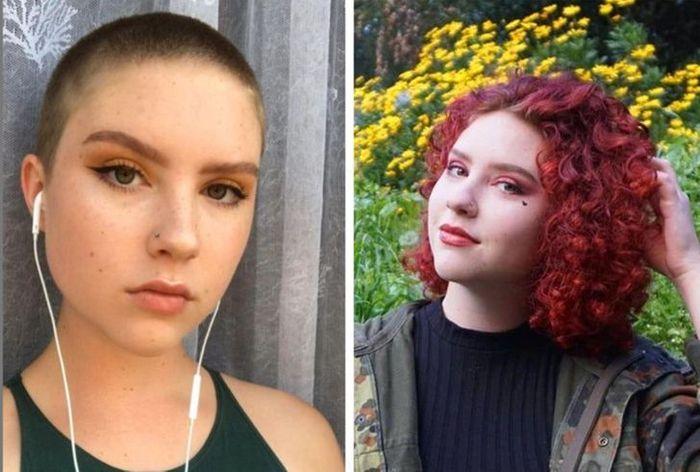 28 pessoas que mudaram radicalmente depois que deixaram o cabelo crescer 28