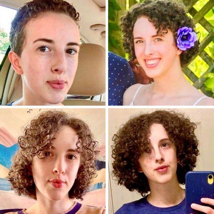 28 pessoas que mudaram radicalmente depois que deixaram o cabelo crescer 29