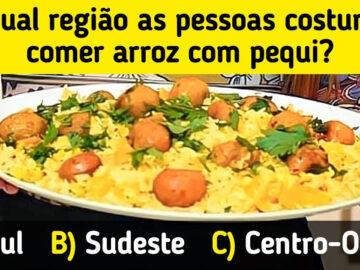 Prove o seu conhecimento sobre o Brasil adivinhando a qual lugar estas coisas pertencem 5