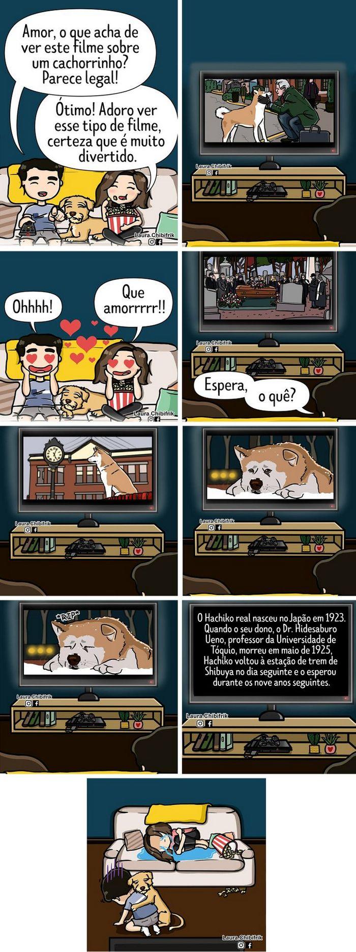 15 quadrinhos mostram como é viver com seu parceiro e seu cachorro 4