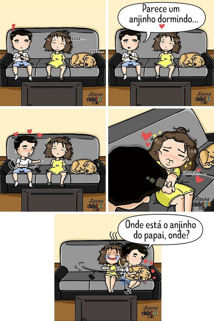 15 quadrinhos mostram como é viver com seu parceiro e seu cachorro 10