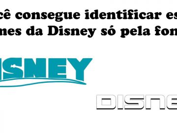 Quiz: Você consegue identificar estes filmes da Disney só pela fonte? 2