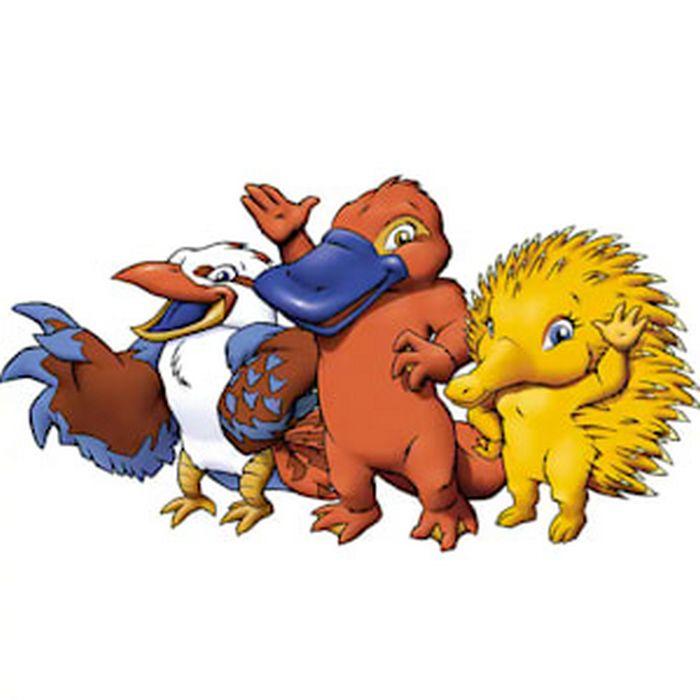 Você se lembra de quais Olimpíadas eram estes mascotes? 3