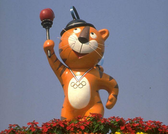 Você se lembra de quais Olimpíadas eram estes mascotes? 4