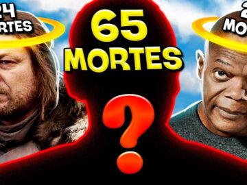 11 atores que mais morreram nos filmes e séries 2