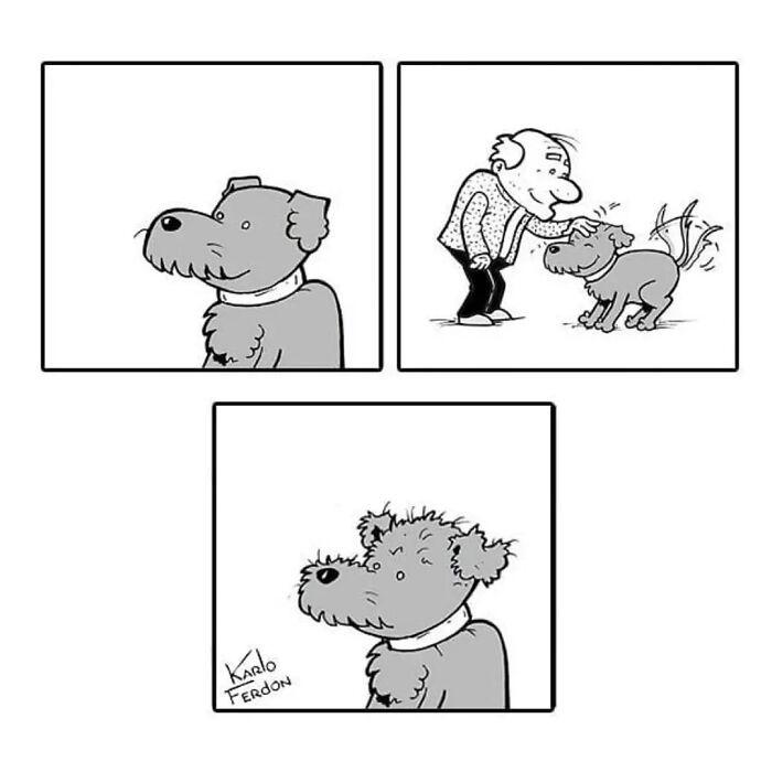 Este artista faz quadrinhos humorísticos sem diálogo (30 fotos) 2