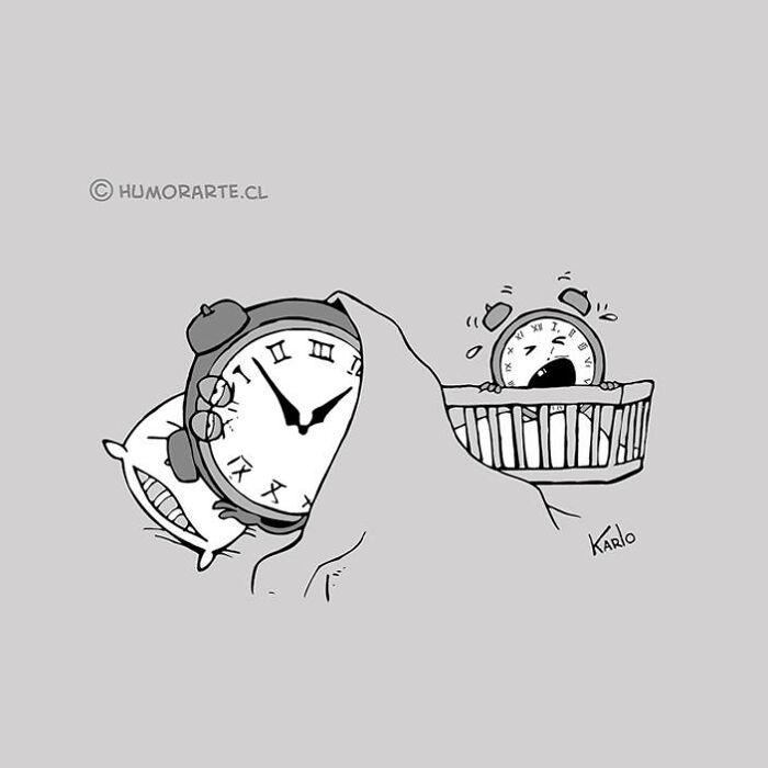 Este artista faz quadrinhos humorísticos sem diálogo (30 fotos) 4
