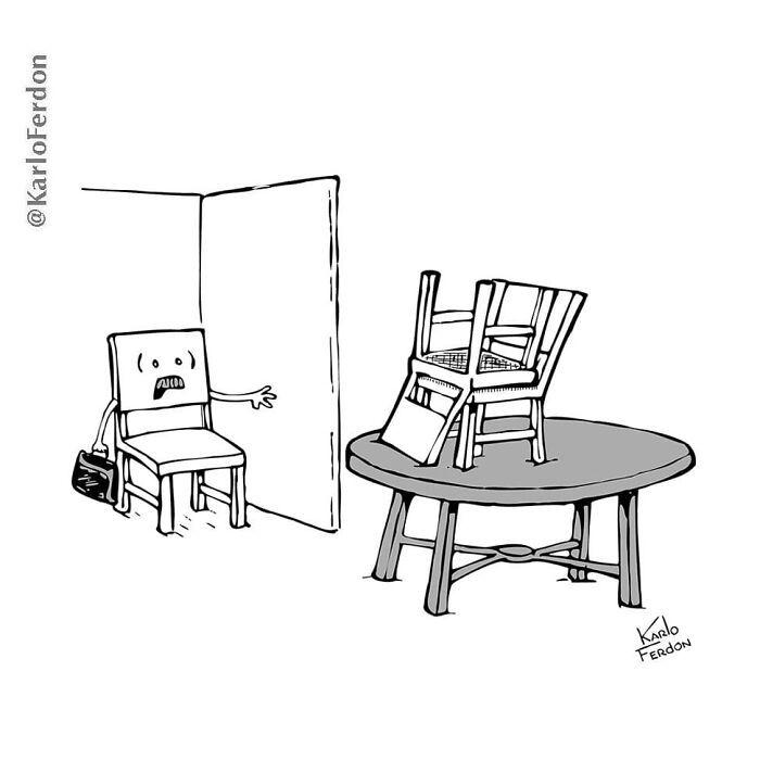 Este artista faz quadrinhos humorísticos sem diálogo (30 fotos) 6