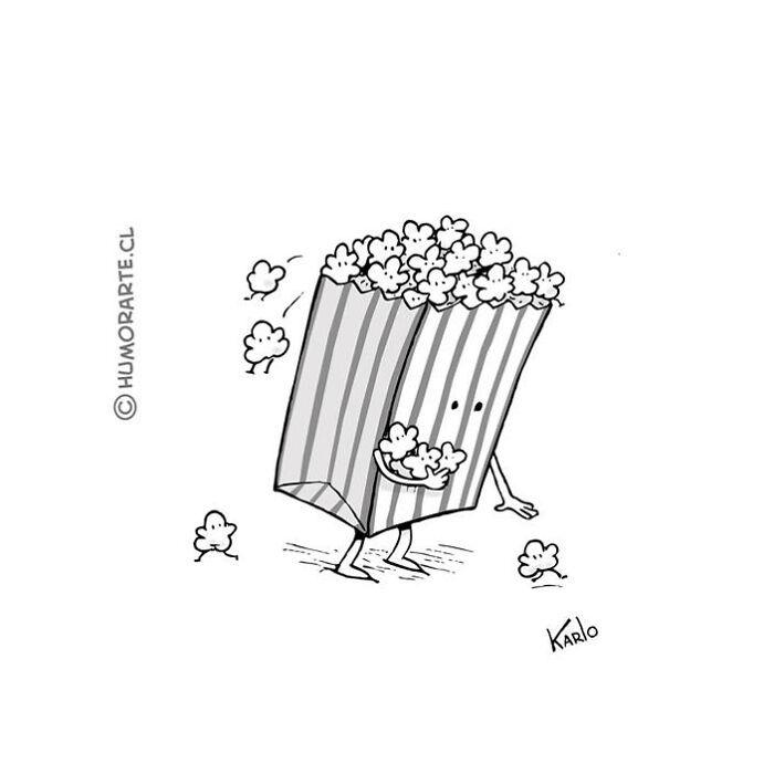 Este artista faz quadrinhos humorísticos sem diálogo (30 fotos) 16