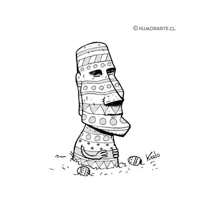 Este artista faz quadrinhos humorísticos sem diálogo (30 fotos) 17