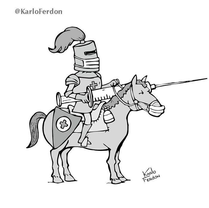 Este artista faz quadrinhos humorísticos sem diálogo (30 fotos) 18