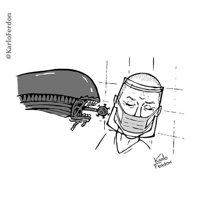Este artista faz quadrinhos humorísticos sem diálogo (30 fotos) 19