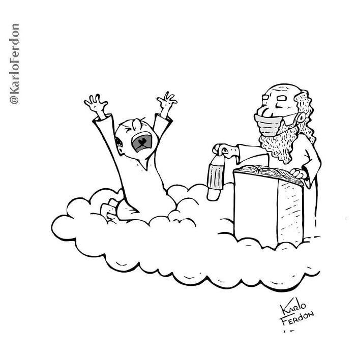 Este artista faz quadrinhos humorísticos sem diálogo (30 fotos) 21