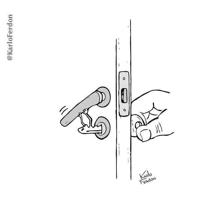 Este artista faz quadrinhos humorísticos sem diálogo (30 fotos) 24
