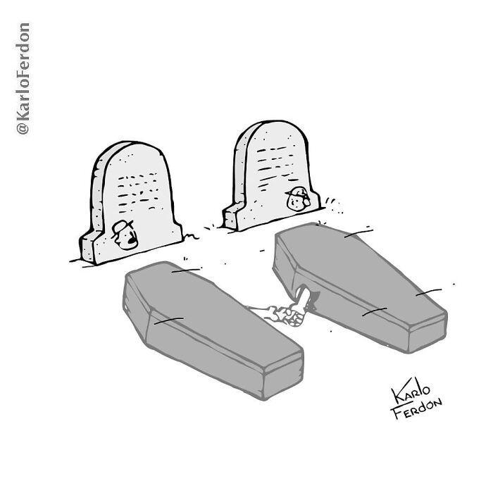 Este artista faz quadrinhos humorísticos sem diálogo (30 fotos) 27