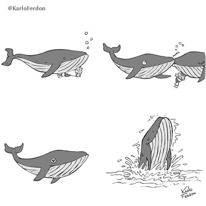 Este artista faz quadrinhos humorísticos sem diálogo (30 fotos) 28
