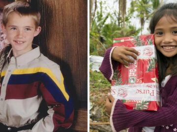 Este menino enviou um presente para uma menina pobre, 15 anos depois, as vidas deles mudaram 3