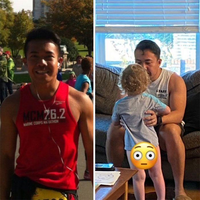 46 fotos hilárias de antes e depois de como a vida muda depois de ter filhos 5