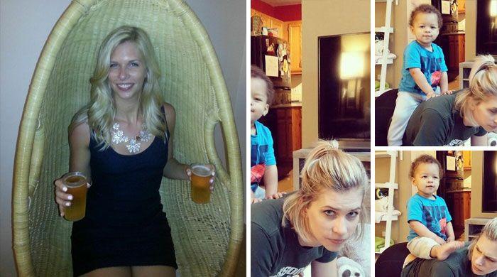46 fotos hilárias de antes e depois de como a vida muda depois de ter filhos 15