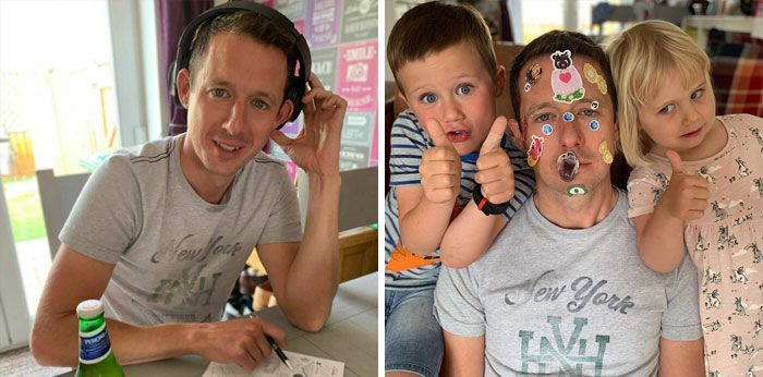 46 fotos hilárias de antes e depois de como a vida muda depois de ter filhos 16